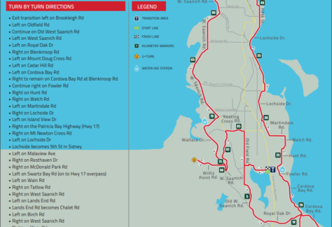 IM 70.3 Victoria Bike Course